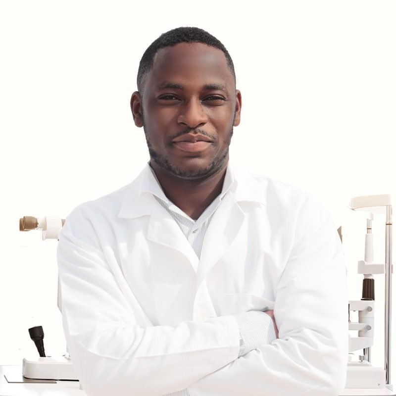 Dr. Benjamin Attah. A save the nation sight optometrist