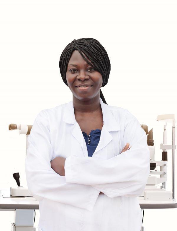 Dr. Enyonam Samlafo. A save the nation sight optometrist