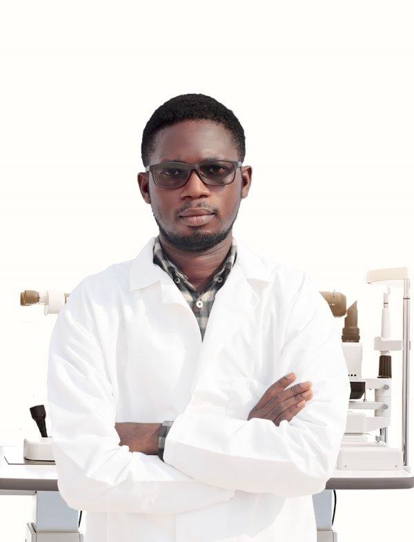 Dr. Richmond Marfo. A save the nation sight optometrist