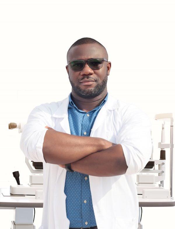 Dr. Bright Biney. A save the nation sight optometrist