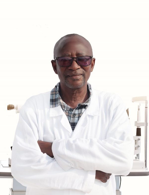 Dr. Thomas Baah. A save the nation sight ophthalmologist
